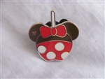 Disney Trading Pin 108477 WDW - 2015 Hidden Mickey Series - Character Candy Apples - Minnie Mouse