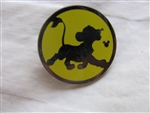 Disney Trading Pin 108540 DLR - 2015 Hidden Mickey Character Silhouettes - Simba