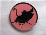 Disney Trading Pins 108541 DLR - 2015 Hidden Mickey Character Silhouettes - Pumba