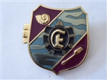 Disney Trading Pin 108545 WDW - Shields of Fantasy - The Little Mermaid