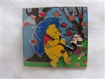 Disney Trading Pin 108597: Pooh and Piglet - Blustery Day
