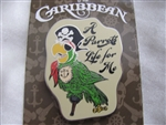 Disney Trading Pin  108600: A Parrot's Life For Me
