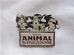 Disney Trading Pin  108604: Fab Four Animal Kingdom Logo