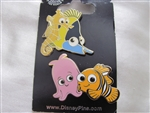 Disney Trading Pin   108605: Finding nemo gang 2 pin set