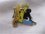 Disney Trading Pin 108612: Finding Nemo gang 2 pin set - Sheldon and Tad Only