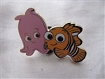 Disney Trading Pin  108613: Finding Nemo gang 2 pin set - Pearl and Nemo Only