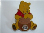 Disney Trading Pin 10864 12 Months of Magic - Birthstone Pooh (Diamond/April)