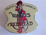 Disney Trading Pin 108798 DLR - Pirates of the Caribbean - We Wants the Redhead