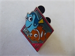 Disney Trading Pins 109341 DLR - 60th Diamond Celebration - Mystery Pin Pack - Nemo and Dory