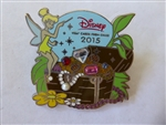 Disney Trading Pins 109772 Disney Visa Card Member 2015 Tinkerbell Treasure Chest