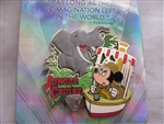 Disney Trading Pin 109876 DLR - Diamond Decades Collection - Jungle Cruise