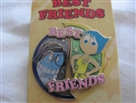 Disney Trading Pin 109922 Best Friends Series - Joy and Sadness 2 pin set