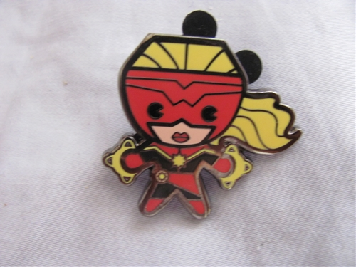 Disney Trading Pin 109958 Marvel Kawaii Art Collection Mystery Pouch   Ms  Marvel Only