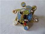 Disney Trading Pin   11008 DLR Cast Member - Earth Day 2002 Spinner (Jiminy Cricket w/Symbols of the Earth)