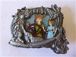 Disney Trading Pins 110626 WDI - Stained Glass - Disneyland Attractions - Peter Pan & Wendy