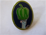 Disney Trading Pin 110685 WDW - Remy's Hide and Squeak 2015 - Green Pepper