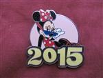Disney Trading Pin  110994 2015 Mystery Collection - Minnie only