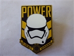 Disney Trading Pin 111127 Star Wars The Force Awakens - Storm Trooper - Power First Order