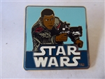 Disney Trading Pin 111128 Star Wars - Square Finn Pin