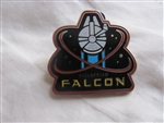 Disney Trading Pin 111263 Star Wars, The Force Awakens, booster set - Millennium Falcon Only