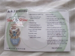Disney Trading Pin 111525 WDW - Food and Wine 2015 - Stitch recipe card food and wine