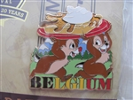 Disney Trading Pin  111547 EPCOT Food & Wine 2015 Pin Set Chip 'n Dale Only