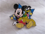 Disney Trading Pin 111705 Mickey & Pluto Star