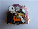 Disney Trading Pin 111718 WDW - MNSSHP 2015 Jack and Sally Completer Pin