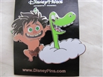 Disney Trading Pin 111809 The Good Dinosaur - Spot and Arlo - 2 Pin Set
