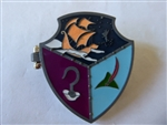 Disney Trading Pin 111875 WDW - Shields of Fantasy - Peter Pan