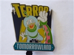 Disney Trading Pin 111877 Haunted Lands 2015 - Terror Tomorrowland - Donald Duck