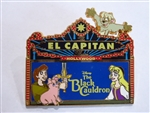 Disney Trading Pin 111892 DSSH - Black Cauldron El Capitan Marquee
