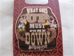 Disney Trading Pin 111895 Splash Mountain - What Goes Up Must Come Down