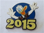 Disney Trading Pins 111942 2015 Mystery Collection - Donald Duck only