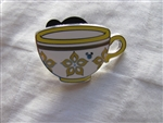 2015 Hidden Mickey Mad Tea Party Cups - Yellow