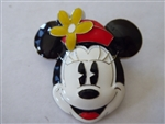 Disney Trading Pin 111977 DLP - Sculpted Minnie Head With Red Hat