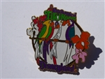 Disney Trading Pins  112 DLR - 1998 Attraction Series - Enchanted Tiki Room (Parrots)