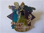 Disney Trading Pin 112131 Happy Holidays 2015: Ho Ho Ho Let It Go