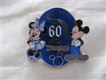 Disney Trading Pin 112180 DVC DLR 60th Anniversary