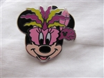 Disney Trading Pin 112205 DLR - 2015 Hidden Mickey Mardi Gras - Minnie