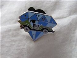 Disney Trading Pin 112220 DLR - 2015 Hidden Mickey Diamond Attractions - Autopia