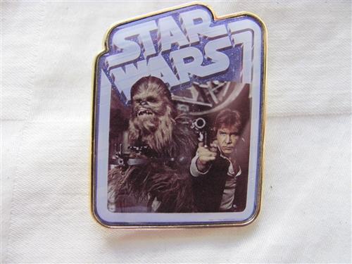 Disney Star Wars Chewbacca Trading Pin