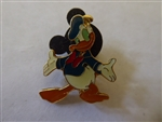 Disney Trading Pin 1128: Monogram - Donald Duck, Standing Arms Out