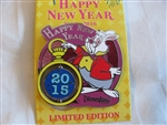 Disney Trading Pin 113033 DLR - Happy New Year 2016 - White Rabbit