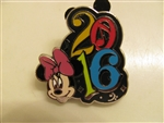 Disney Trading Pin 113170 2016 Dated Booster - Minnie only
