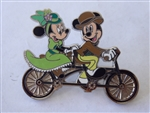 Disney Trading Pin 113181 Minnie and Mickey - Bicycle Built for Two
