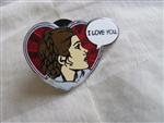 Disney Trading Pin 113242 Leia Organa I love you.