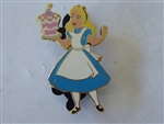 Disney Trading Pin 113295 DSSH - Alice with Cake