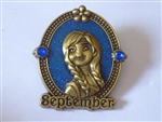 Disney Trading Pin 113605 Birthstone - September 2016 - Anna