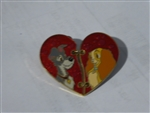 Disney Trading Pins 113657 Lady and the Tramp Two Piece Heart